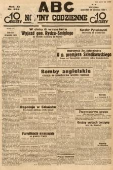 ABC : nowiny codzienne. 1936, nr238