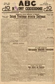ABC : nowiny codzienne. 1936, nr239
