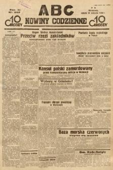 ABC : nowiny codzienne. 1936, nr240