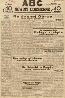 ABC : nowiny codzienne. 1936, nr246