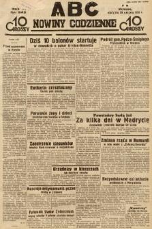 ABC : nowiny codzienne. 1936, nr249
