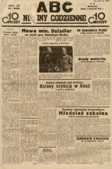 ABC : nowiny codzienne. 1936, nr252