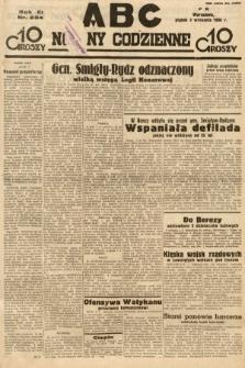 ABC : nowiny codzienne. 1936, nr254