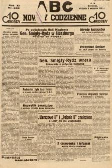 ABC : nowiny codzienne. 1936, nr256