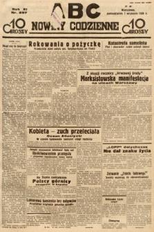 ABC : nowiny codzienne. 1936, nr257