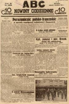 ABC : nowiny codzienne. 1936, nr258