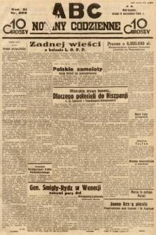ABC : nowiny codzienne. 1936, nr259