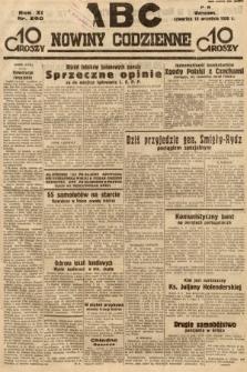 ABC : nowiny codzienne. 1936, nr260