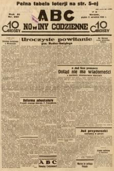 ABC : nowiny codzienne. 1936, nr261