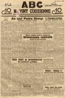 ABC : nowiny codzienne. 1936, nr264
