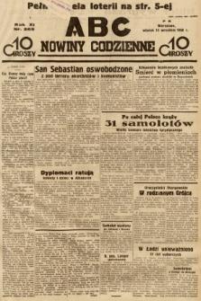ABC : nowiny codzienne. 1936, nr265