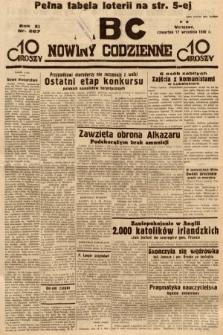 ABC : nowiny codzienne. 1936, nr267