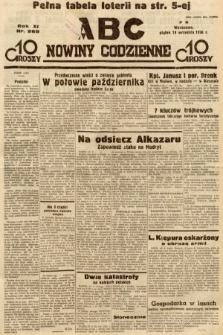 ABC : nowiny codzienne. 1936, nr268