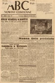 ABC : nowiny codzienne. 1936, nr269