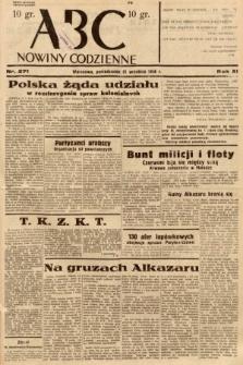 ABC : nowiny codzienne. 1936, nr271