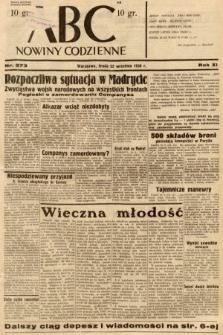 ABC : nowiny codzienne. 1936, nr273