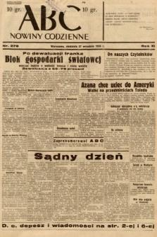 ABC : nowiny codzienne. 1936, nr278