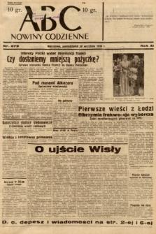 ABC : nowiny codzienne. 1936, nr279