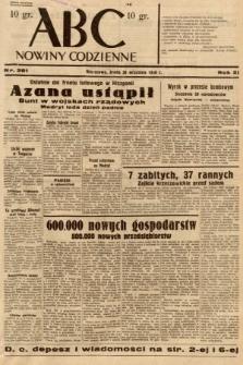 ABC : nowiny codzienne. 1936, nr281