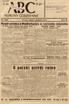 ABC : nowiny codzienne. 1936, nr282