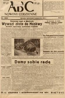 ABC : nowiny codzienne. 1936, nr286