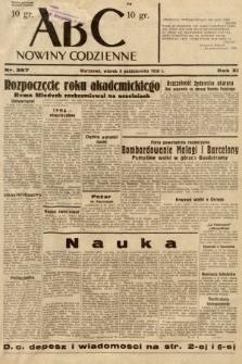 ABC : nowiny codzienne. 1936, nr287