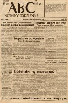 ABC : nowiny codzienne. 1936, nr288