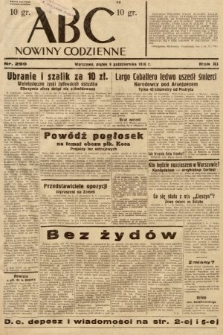 ABC : nowiny codzienne. 1936, nr290
