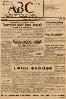 ABC : nowiny codzienne. 1936, nr291
