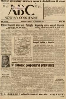 ABC : nowiny codzienne. 1936, nr292