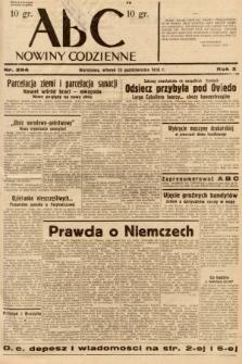 ABC : nowiny codzienne. 1936, nr294