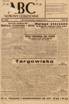 ABC : nowiny codzienne. 1936, nr296