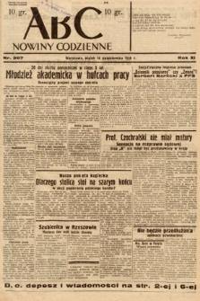 ABC : nowiny codzienne. 1936, nr297