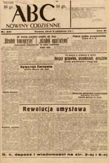 ABC : nowiny codzienne. 1936, nr301