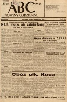 ABC : nowiny codzienne. 1936, nr302