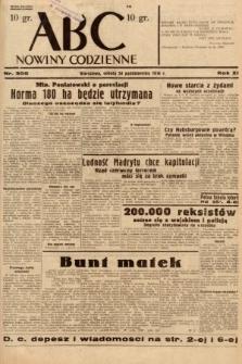 ABC : nowiny codzienne. 1936, nr305