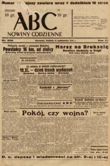 ABC : nowiny codzienne. 1936, nr306