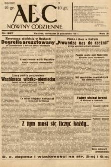 ABC : nowiny codzienne. 1936, nr307