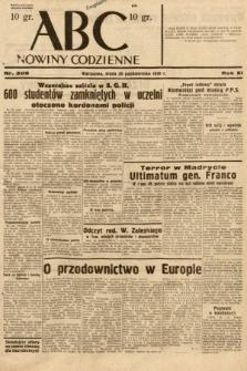 ABC : nowiny codzienne. 1936, nr309