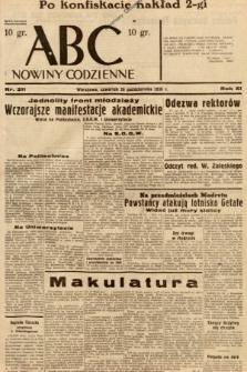 ABC : nowiny codzienne. 1936, nr311 [ocenzurowany]