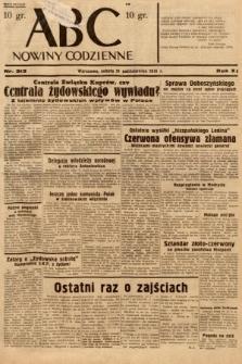 ABC : nowiny codzienne. 1936, nr313