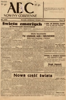 ABC : nowiny codzienne. 1936, nr315