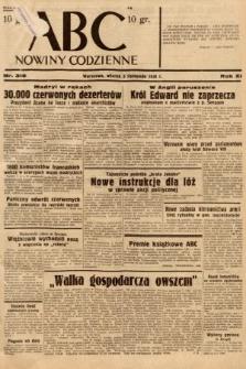ABC : nowiny codzienne. 1936, nr316