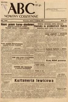 ABC : nowiny codzienne. 1936, nr319