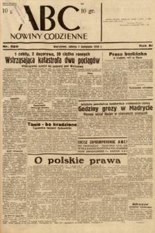 ABC : nowiny codzienne. 1936, nr320