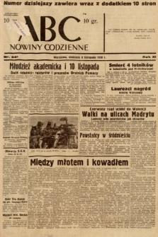 ABC : nowiny codzienne. 1936, nr321