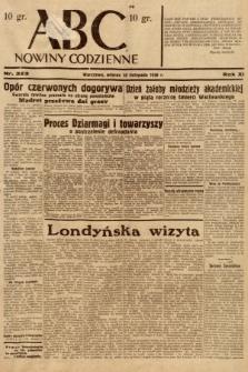 ABC : nowiny codzienne. 1936, nr323