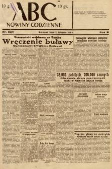 ABC : nowiny codzienne. 1936, nr324