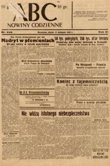 ABC : nowiny codzienne. 1936, nr326