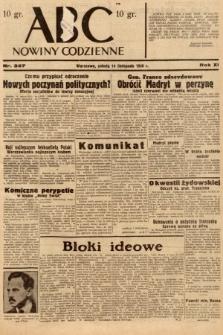 ABC : nowiny codzienne. 1936, nr327